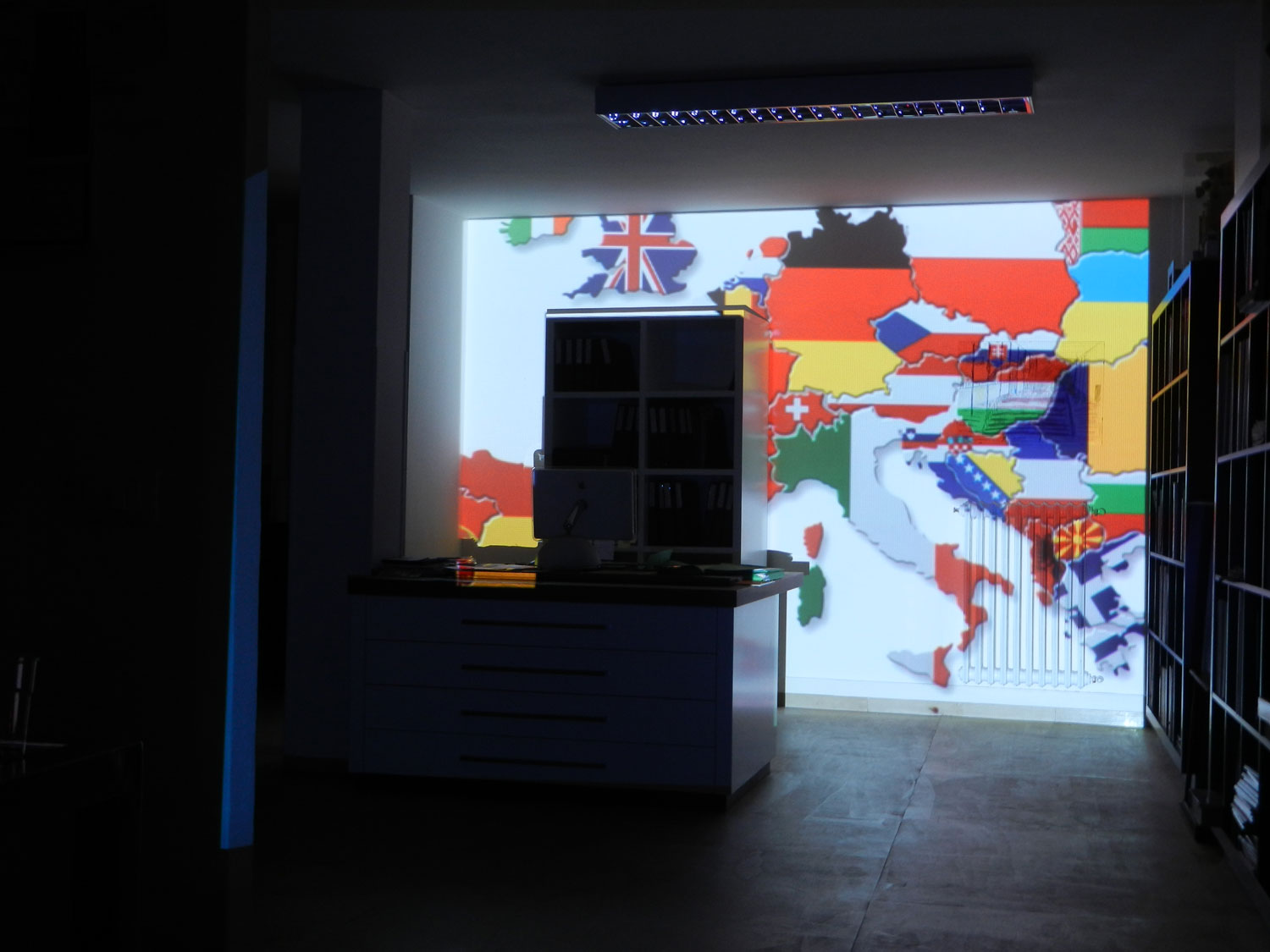 Interior 3D Projection Mapping Florence 2013 | Visual Skin